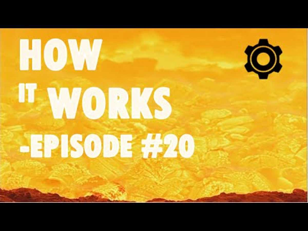HOW IT WORKS - Episode 20 - Recycled clothes, Euro coins, Parmesan, Cutlery