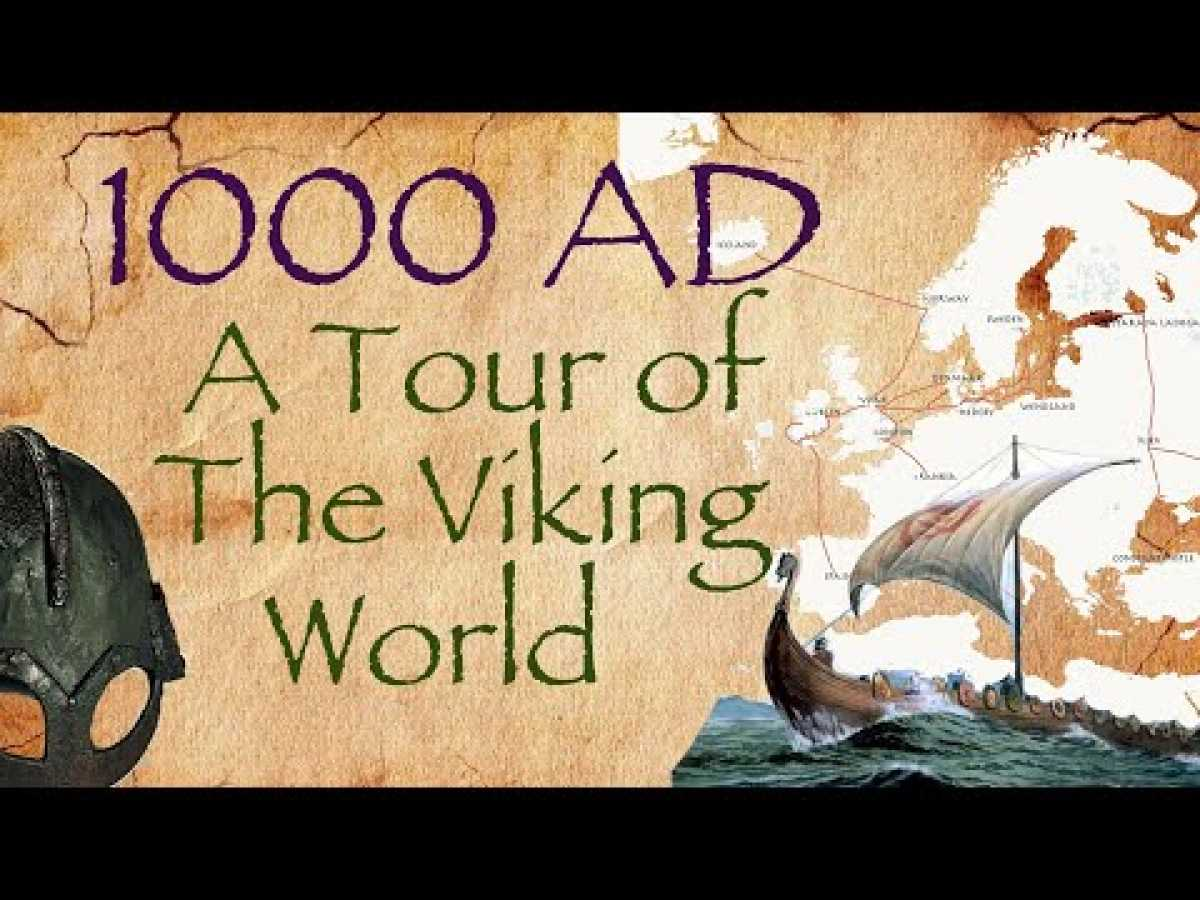 1000 AD: A Tour of the Viking World // Vikings Documentary