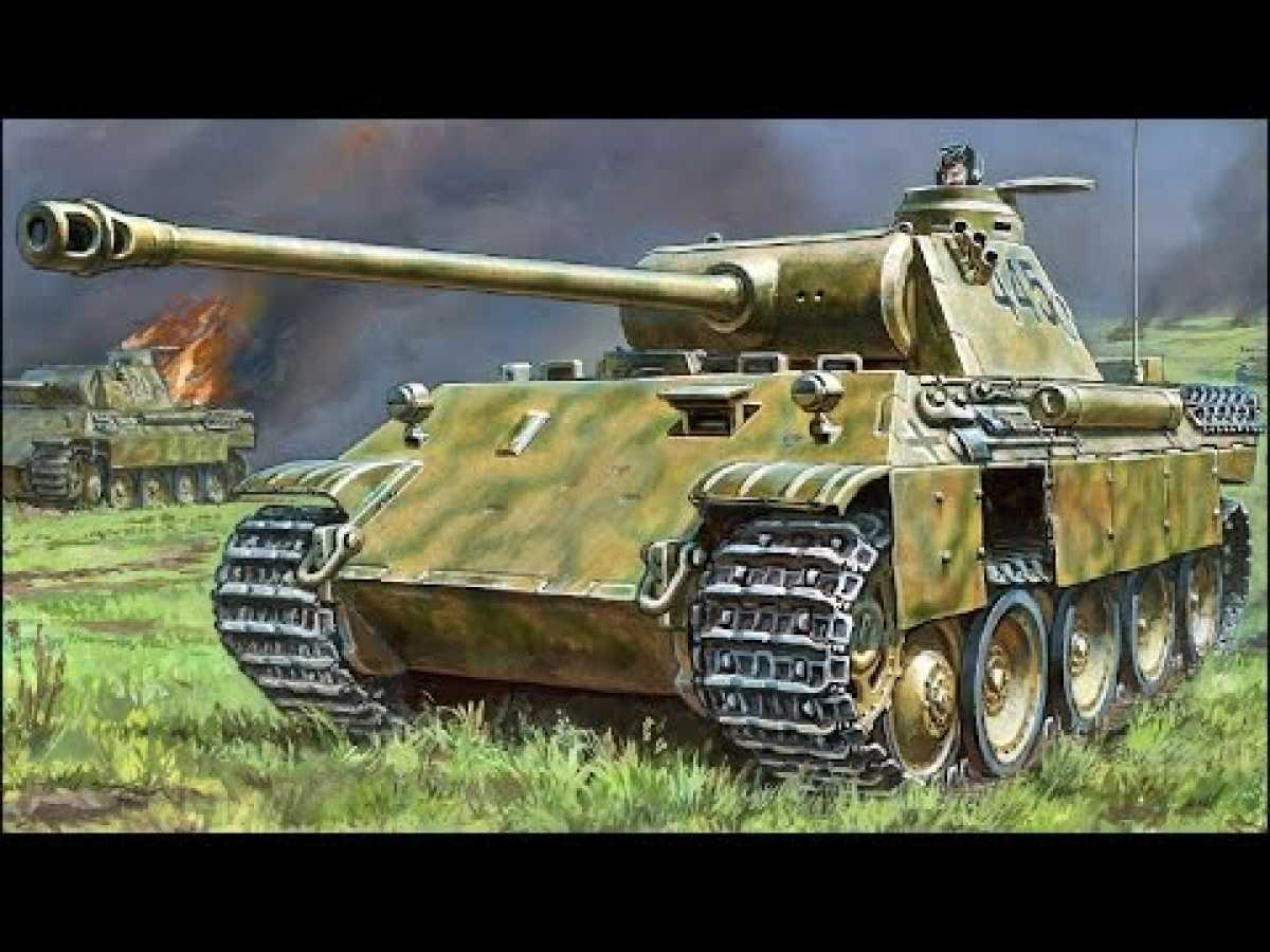 "WWII - Panzer V Sd. Kfz. 171 ""Panther"" German Tank"