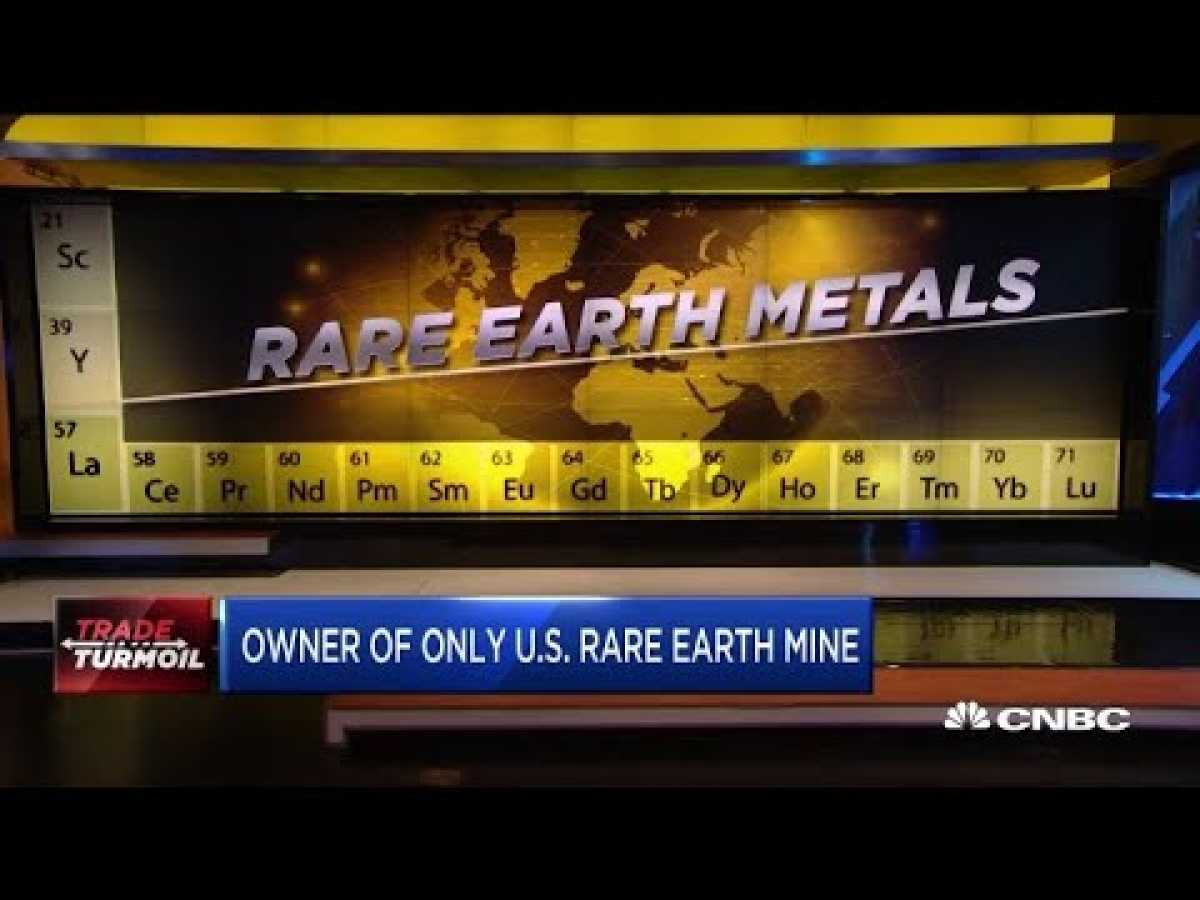 Co-chair of America's only rare earth mine discusses China's threat
