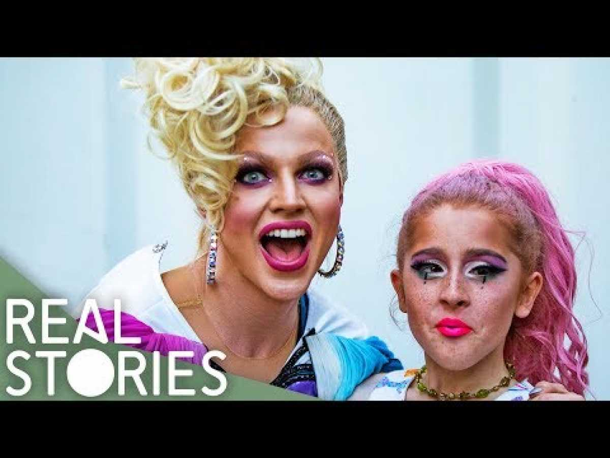 Young Drag Kid meets Courtney Act | Real Stories