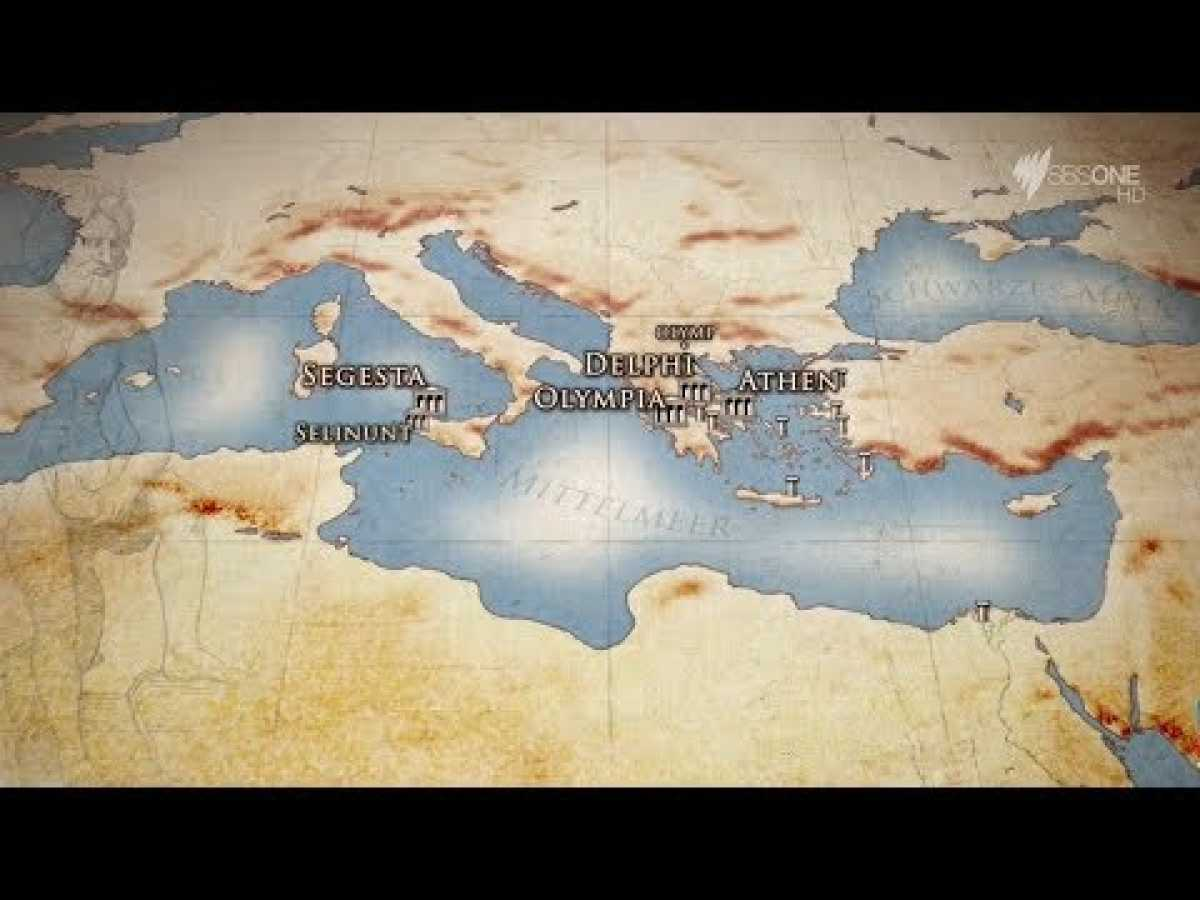 Greeks Romans Vikings The Founders Of Europe - The Greeks Documentary HD 1 of 3