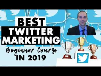 Best Twitter Marketing for Beginners Course in 2019?