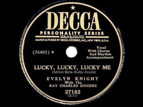 Music - Evelyn Knight - Lucky, Lucky, Lucky Me (Hyundai TV Ad Music)