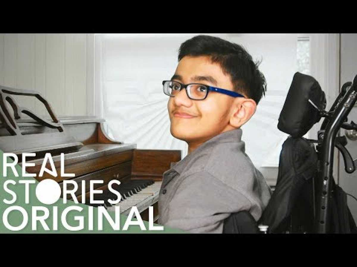 Brittle Bone Rapper: The Inspirational World Of Sparsh (Amazing Person Documentary) | Real Stories