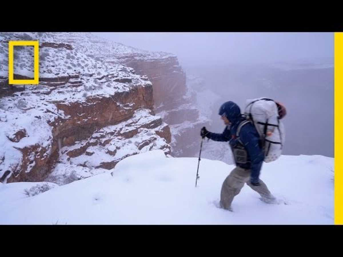 Epic Grand Canyon Hike: Frozen Shoes and Low on Food (Part 2) | National Geographic