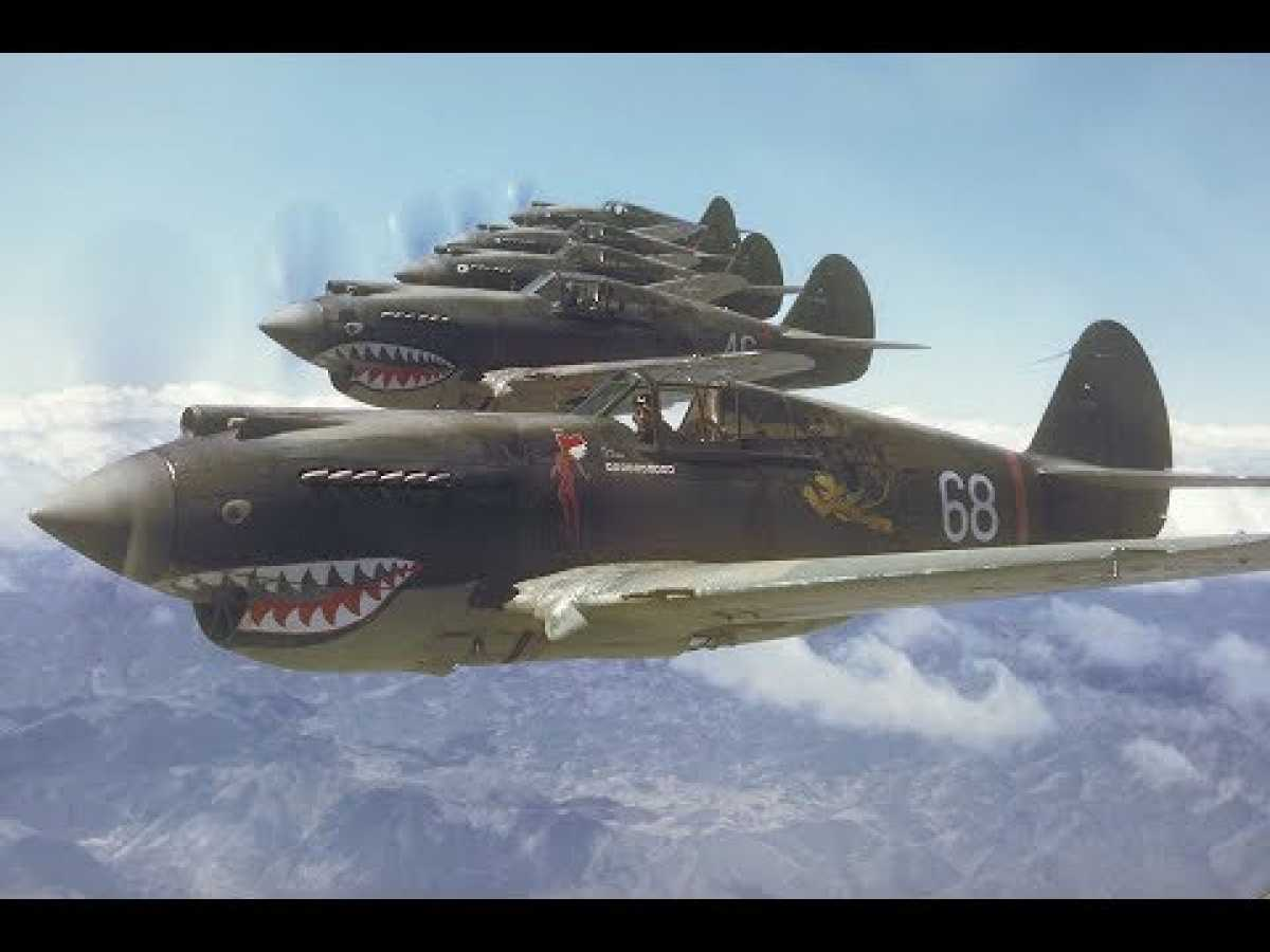 Great Planes - P 40 Warhawk Documentary HD 2 of 17
