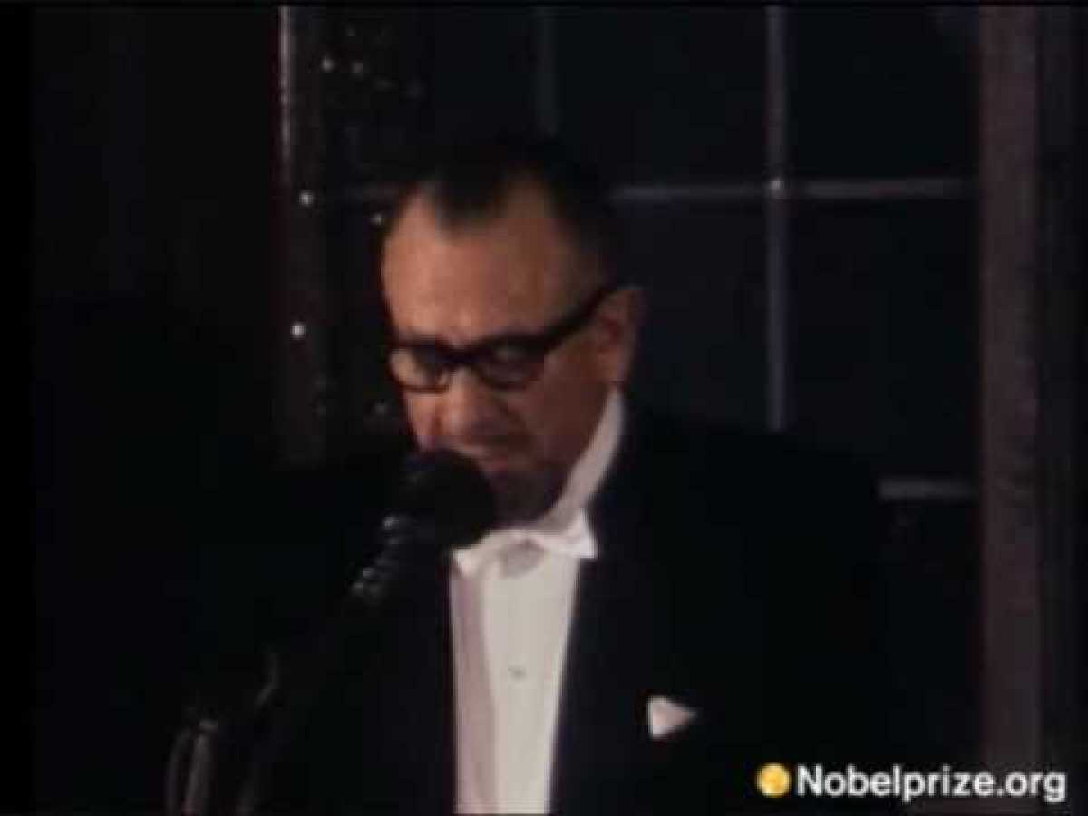 John Steinbeck gives Nobel Prize Speech