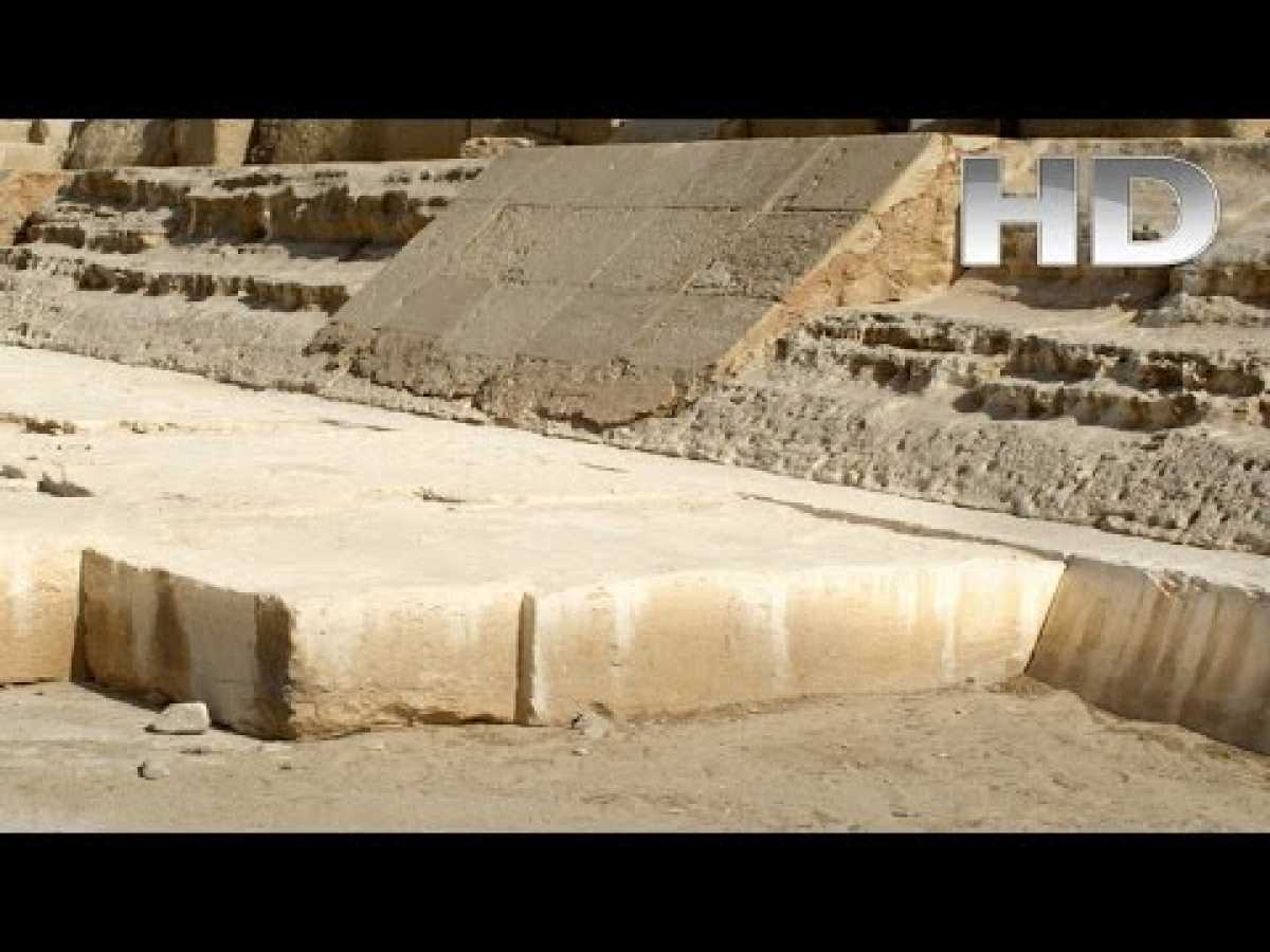 Ancient Building Techniques Concrete Use in Ancient Egypt [DOCUMENTARY]