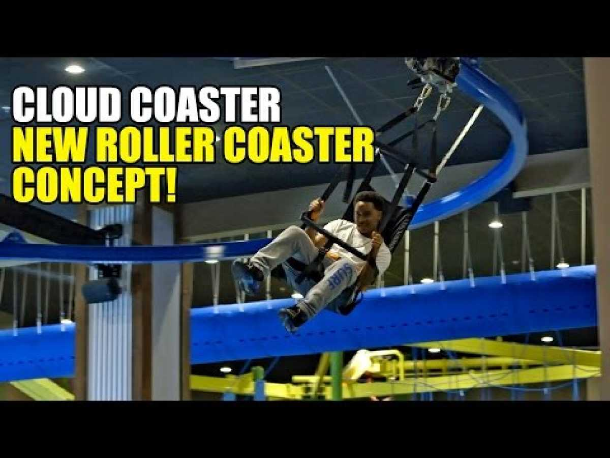 Cloud Coaster Roller Coaster by Extreme Engineering IAAPA 2016